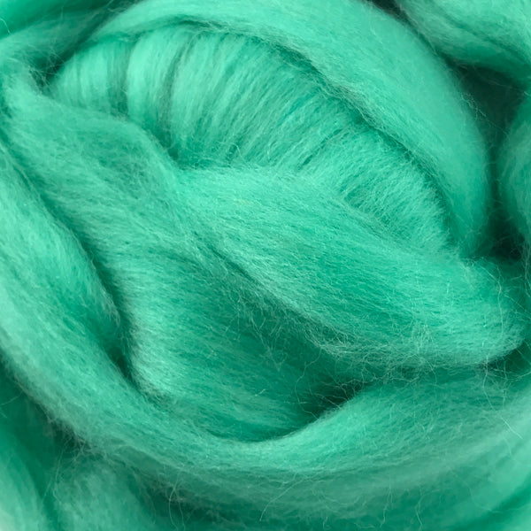 100g Jade Merino wool tops for felting & giant knitting