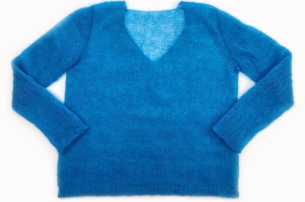 """Comfy Pullover Lite"" Pattern by Phoenix Bliss (Knit-a-jumper-club 3 pattern)"