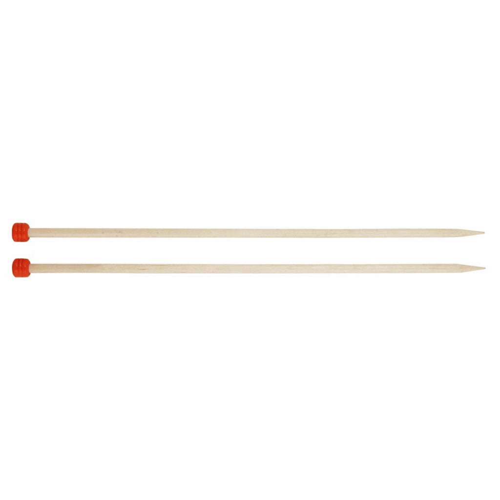 Knit Pro Basix Birch 30cm Single Point Knitting Needles 3mm