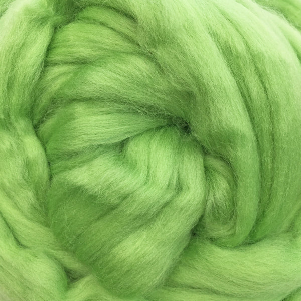 100g Lettuce Merino Wool Tops for Felting  & giant knitting