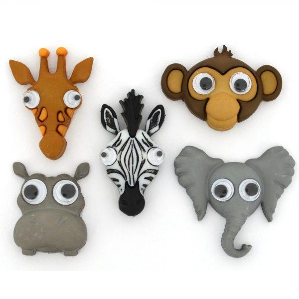 Life's a zoo Dress it Up Button Pack