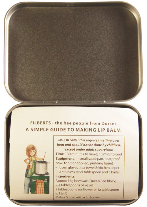 Lip Balm Kit in a Tin