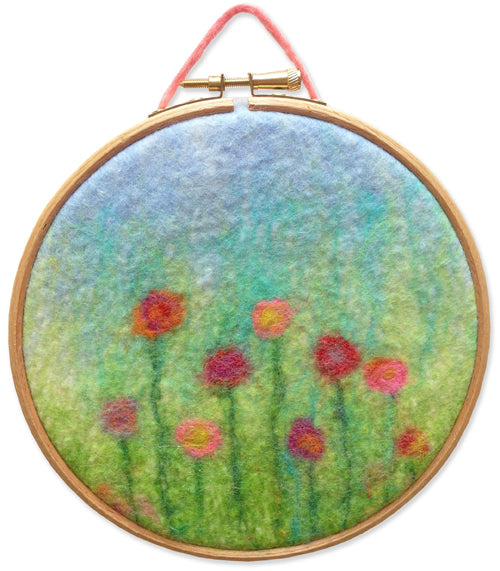 COMPLETE Lollipop Landscape Wet Felting Kit
