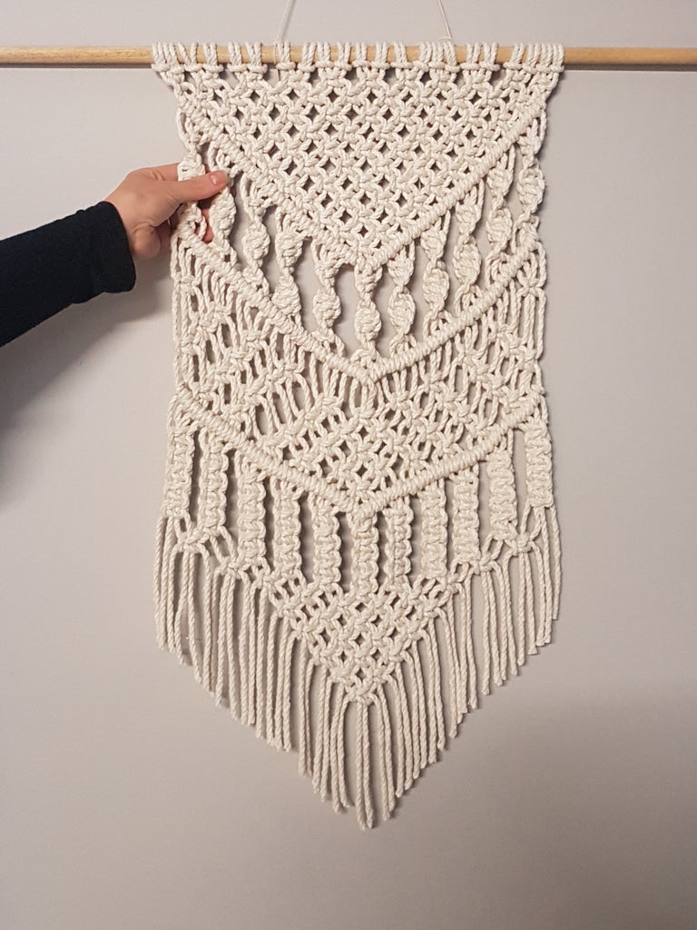 Learn Macrame : Make your own Wallhanging Course 8/2/20