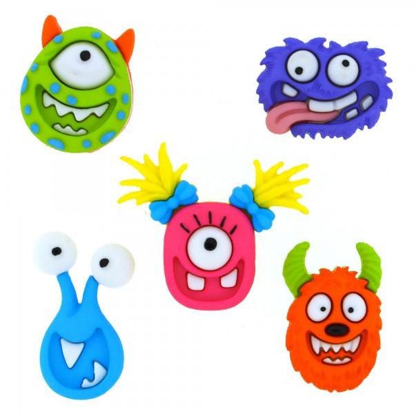 Mad for Monsters Dress it Up Button Pack