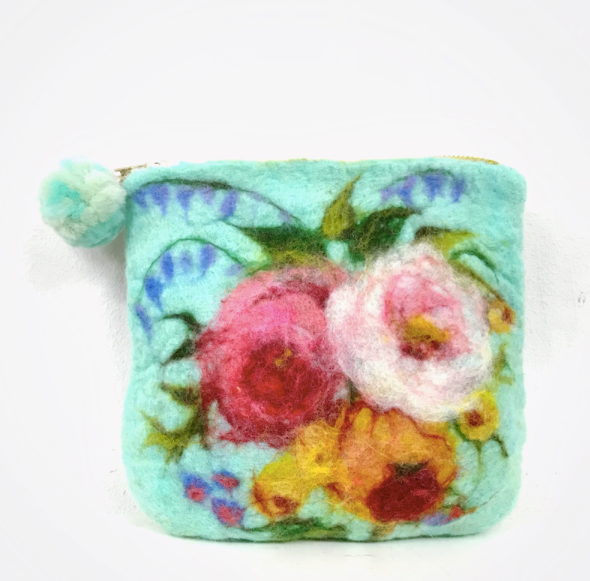 Make a Wet Felted Bag, Tea Cosy or Cushion 13/6/20