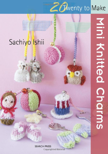 Mini Knitted Charms by Sachiyo Ishii