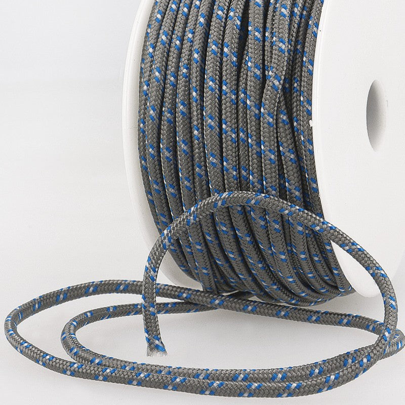 Multicoloured Cord 3mm 33 grey