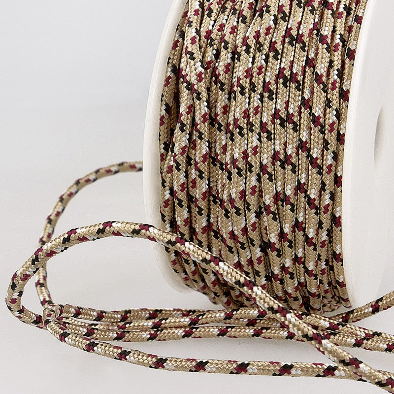 Multicoloured Cord 3mm 40 beige