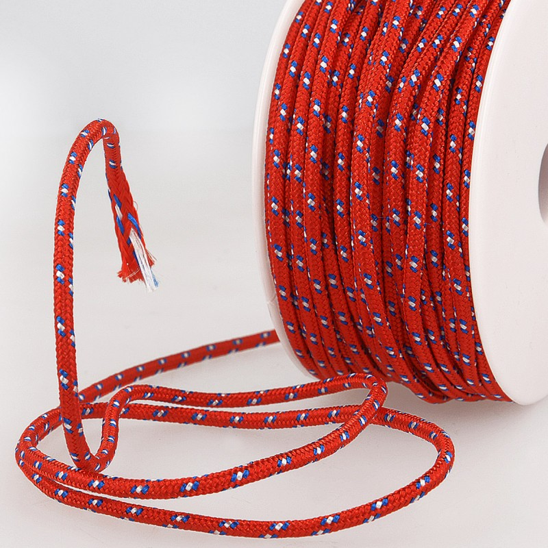 Multicoloured Cord 3mm red 08