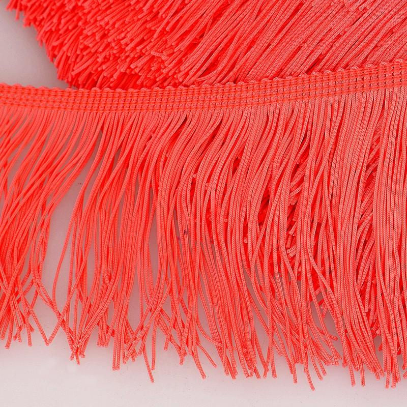 Neon Orange 5cm Fringing colour 103