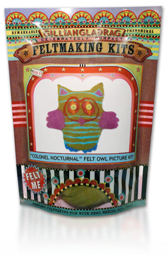 Colonel Nocturnal Kids Owl Felting Kit