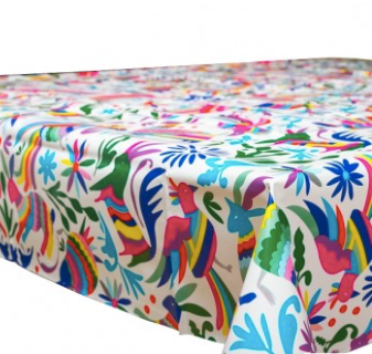 Oilcloth Otomi (sold by the metre)