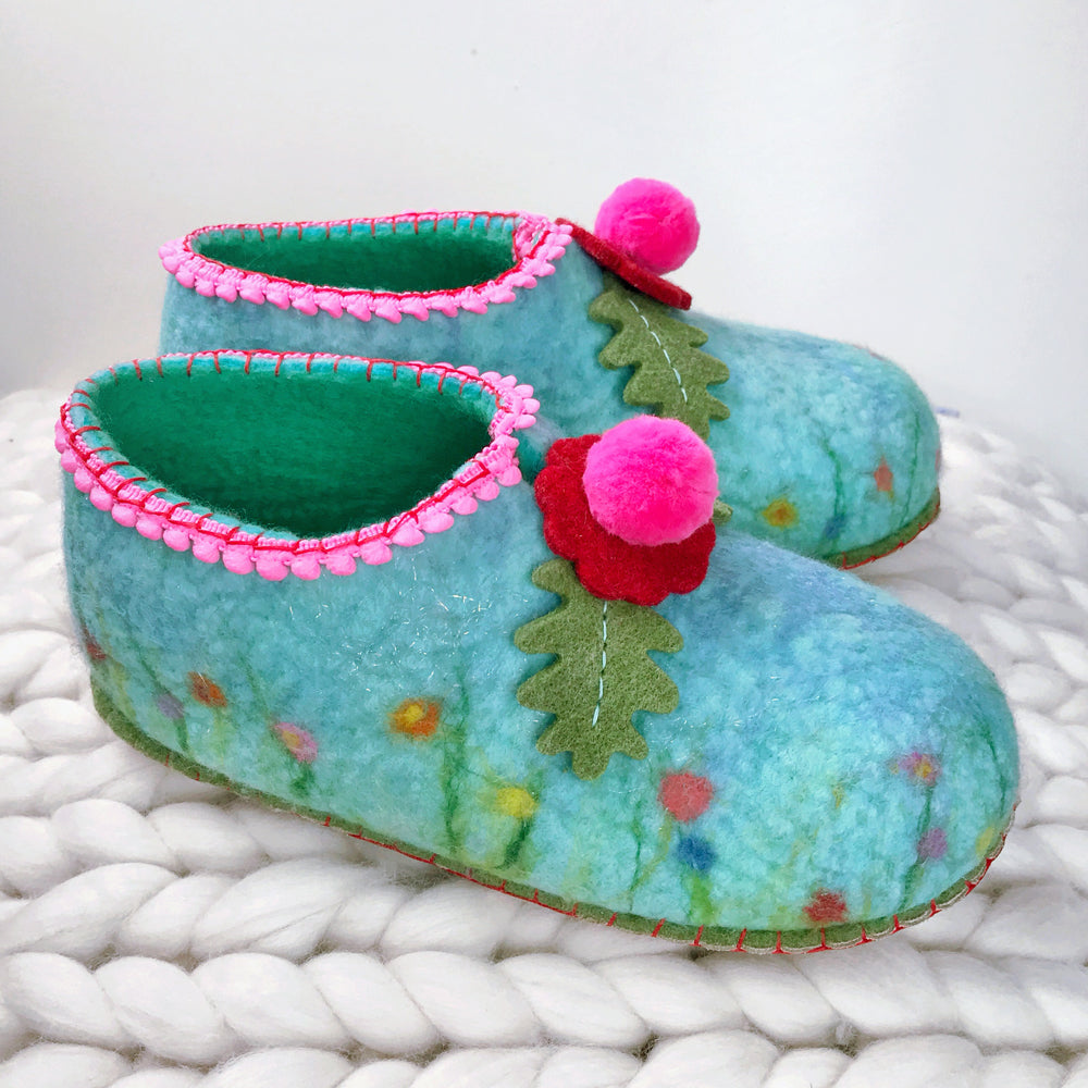 Felt Slipper Kit (as used in online course)