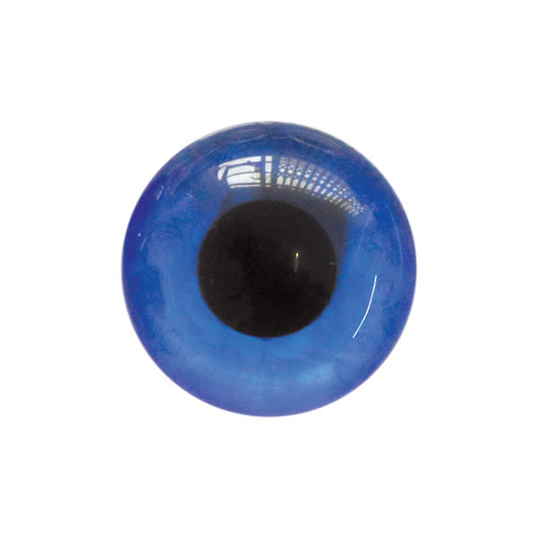 Sew on Eye Button 11mm 2A Blue