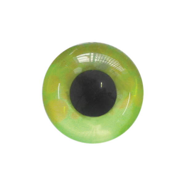 Sew on Eye Button 11mm 2C Green