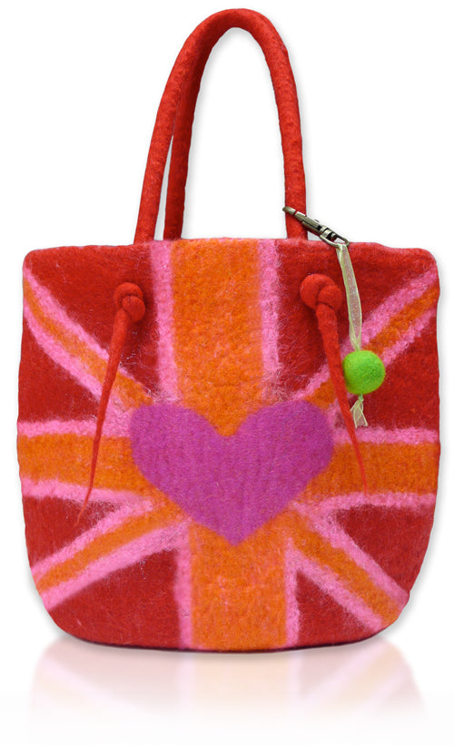 Princess & The Pea (SML) Bag wet Felting Kit
