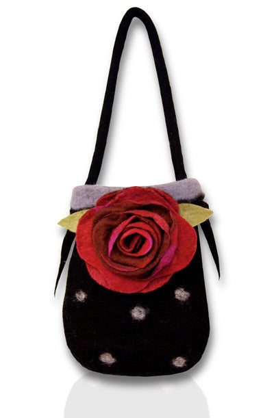 Ravishing Ruby Tuesday Felting Bag Kit