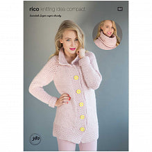 Rico Essentials Super Pattern 380 Cardigan & Snood
