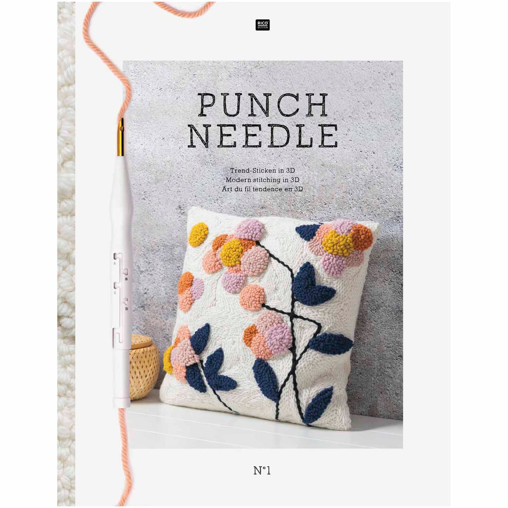 Rico Punch Needle Pattern Book & How To