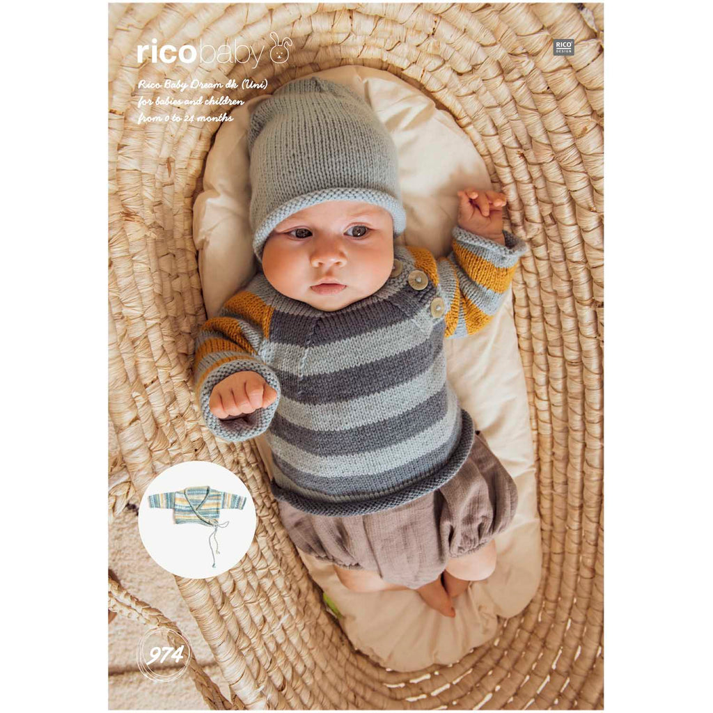 Rico Baby Dream Knitting Pattern 974