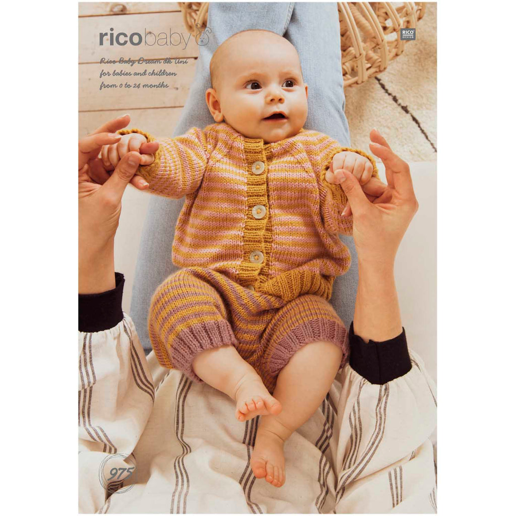 Rico Baby Dream Knitting Pattern 975