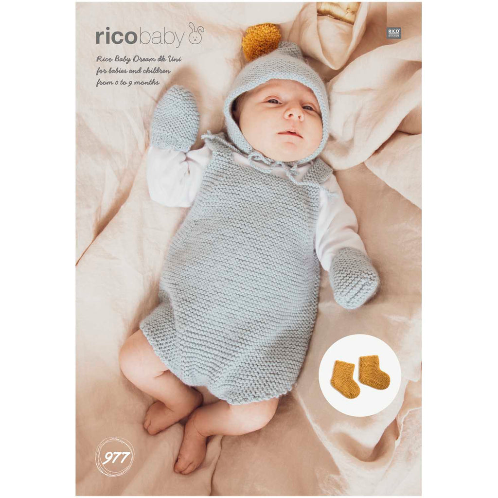 Rico Baby Dream Knitting Pattern 977