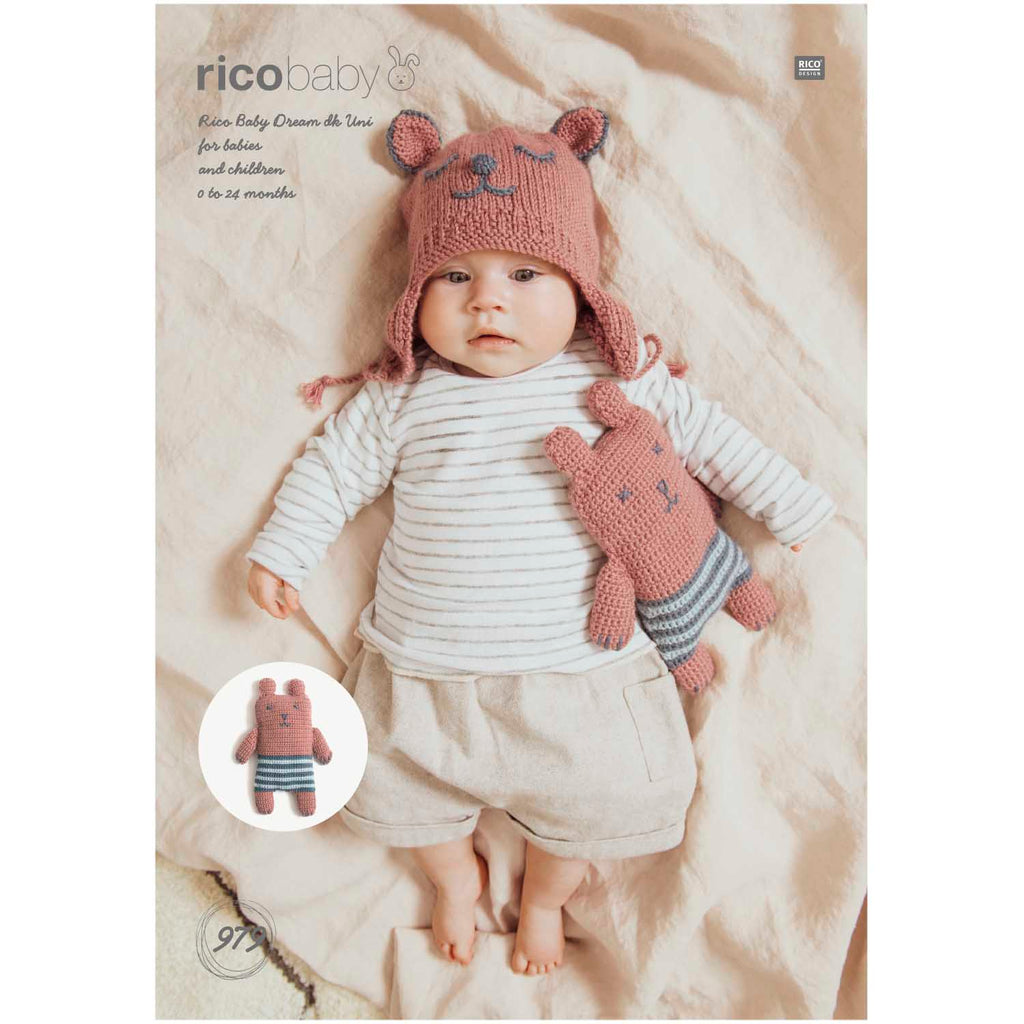 Rico Baby Dream Knitting Pattern 979
