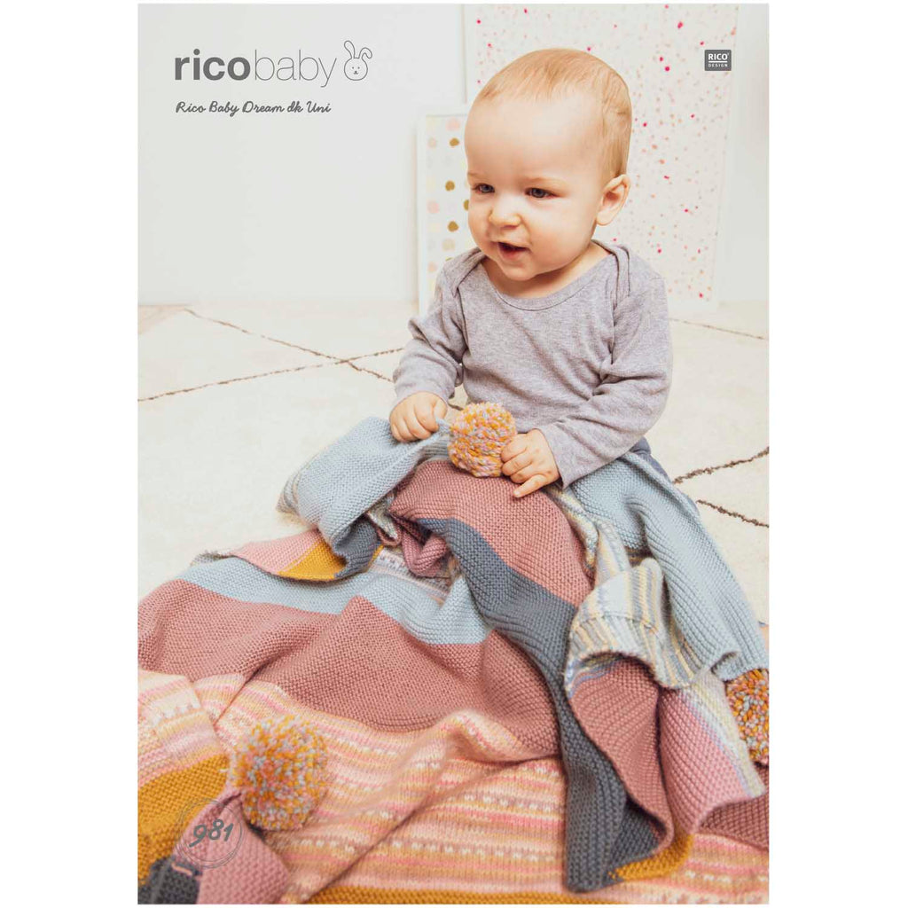 Rico Baby Dream Knitting Pattern 981