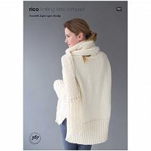 Rico Essentials Super Pattern 367 Sweater and Scarf