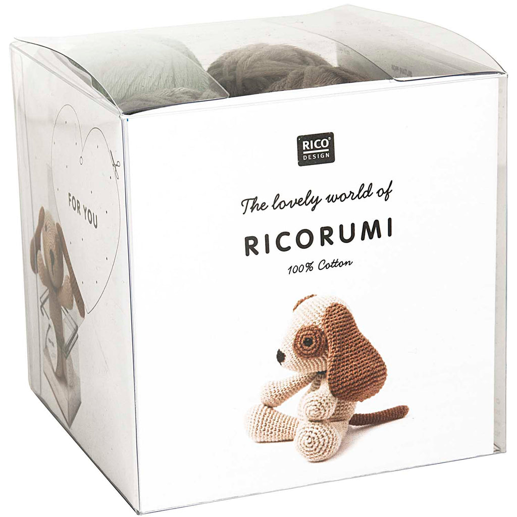 Ricorumi Crochet Kit Dog
