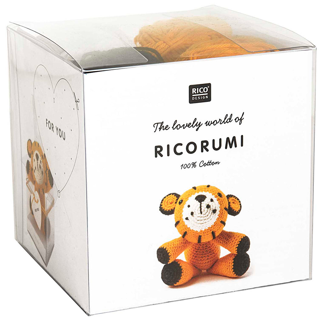 Ricorumi Crochet Kit Tiger