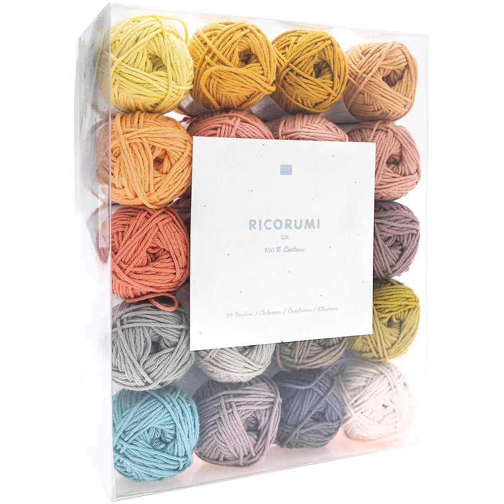 Ricorumi 20 x 25g Pack LE Muted Colours