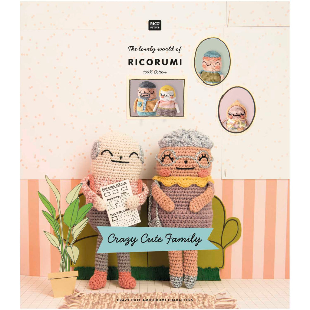 Ricorumi Crazy Cute Family Pattern Book
