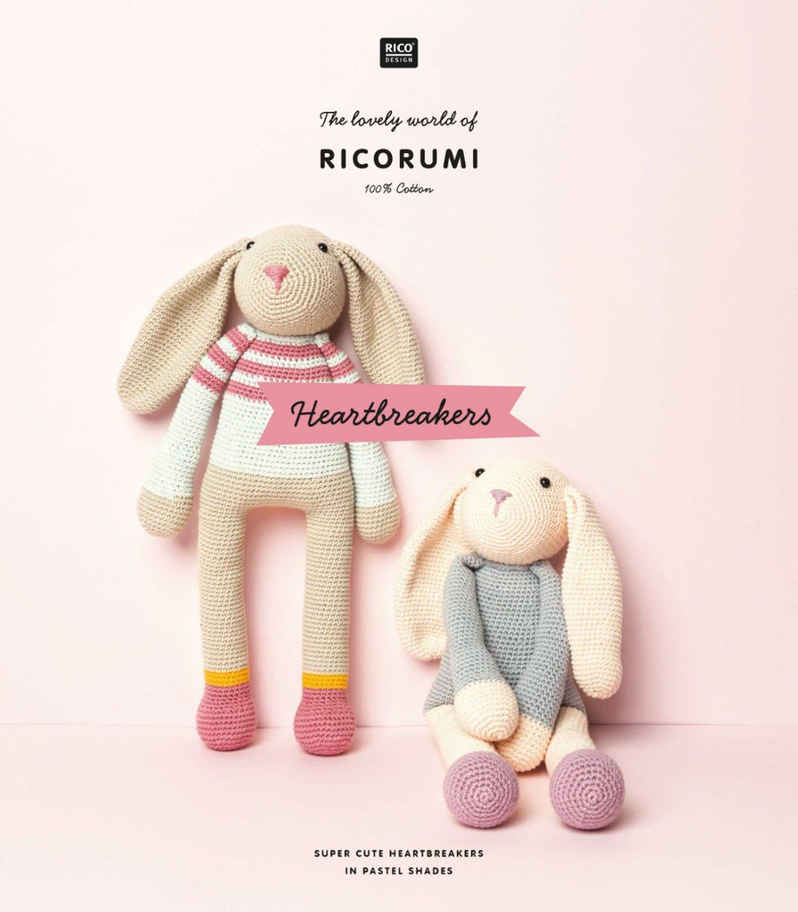 Ricorumi Heartbreakers Pattern Book