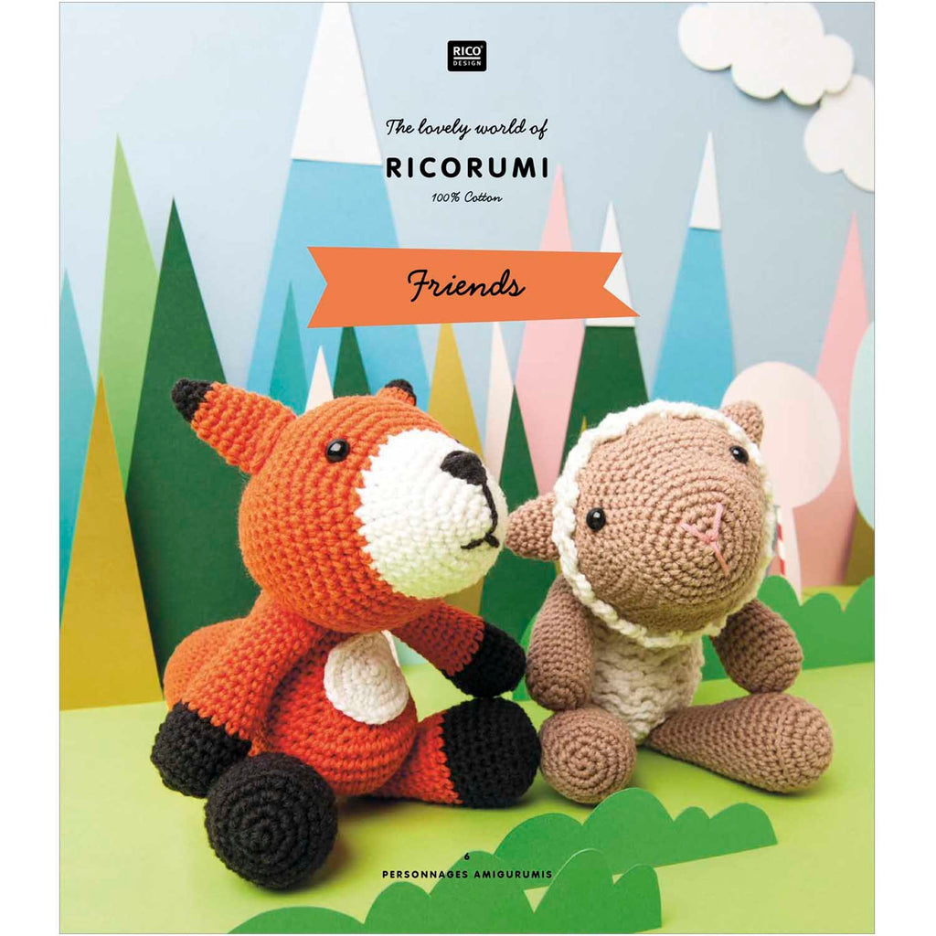 Ricorumi Rumi Friends  (Animals) Pattern Book