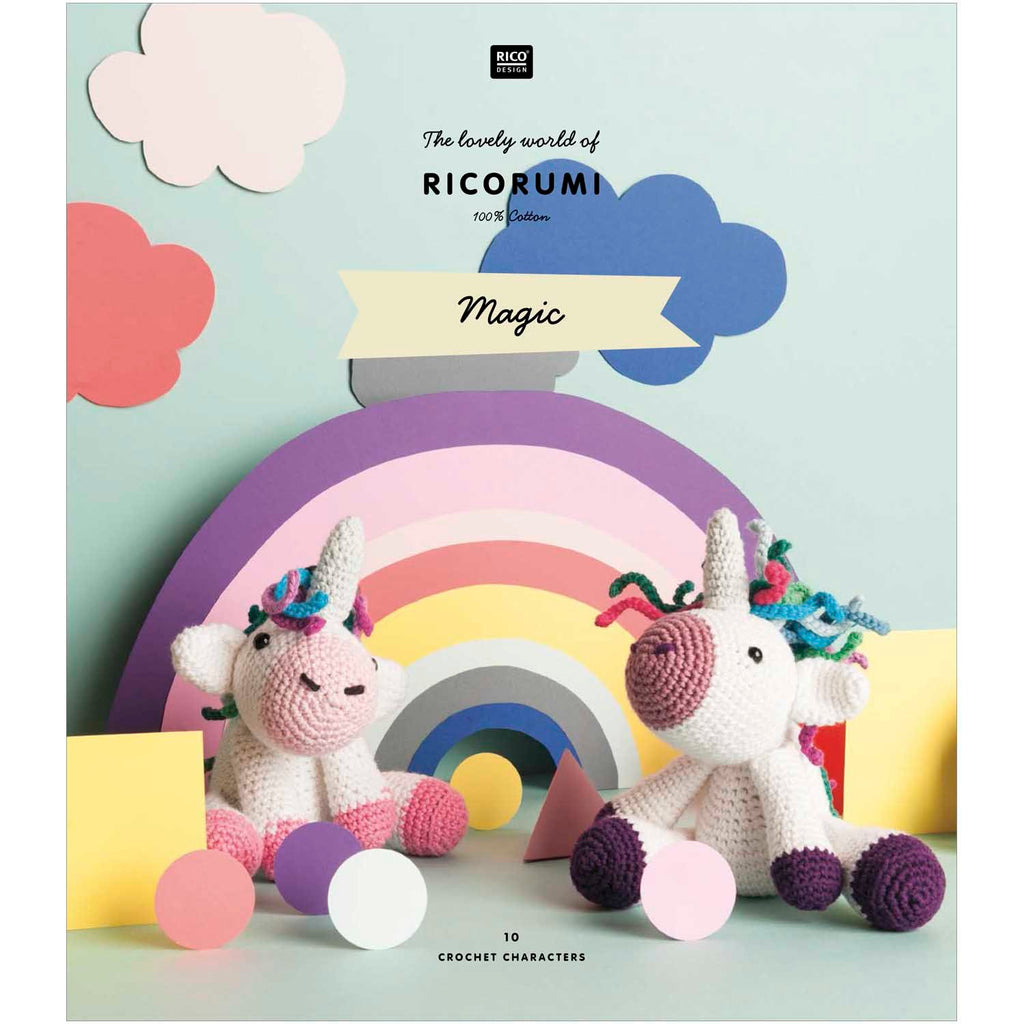 Ricorumi Rumi Magic (Teddies etc) Pattern Book