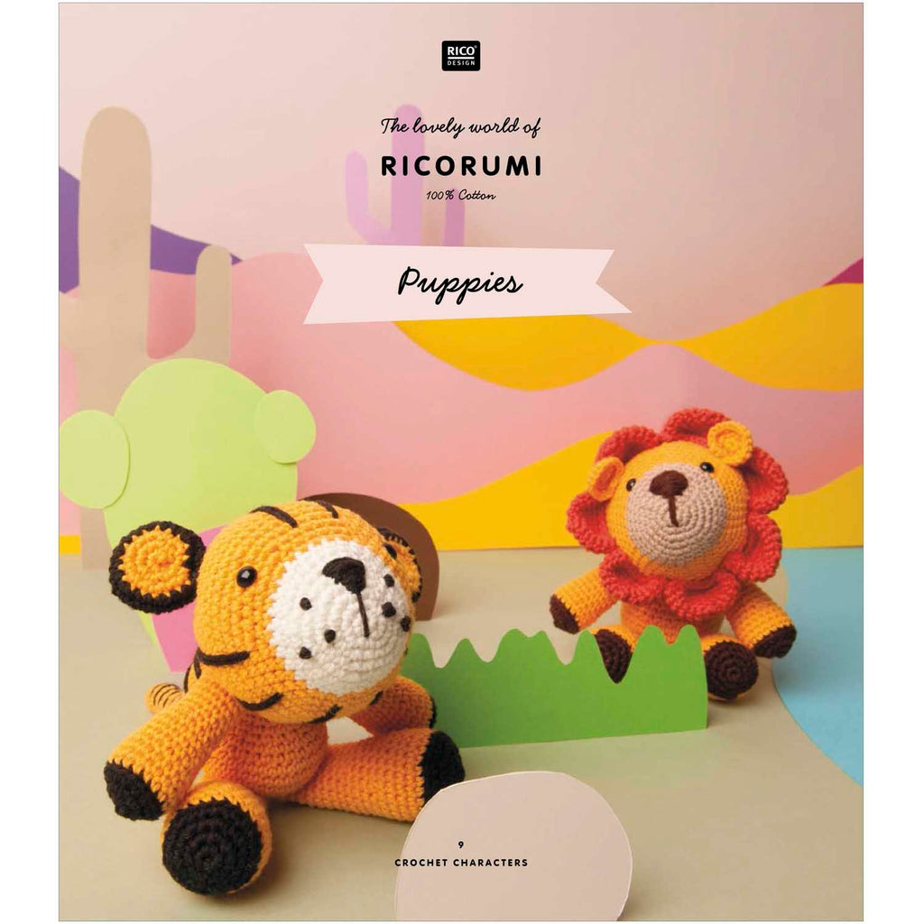 Ricorumi Rumi Puppies Pattern Book