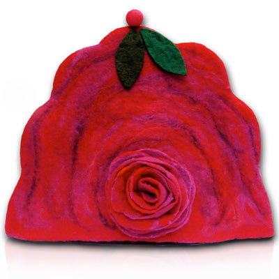 Ring-around-the-Rosie Felt Tea Cosy felting Kit
