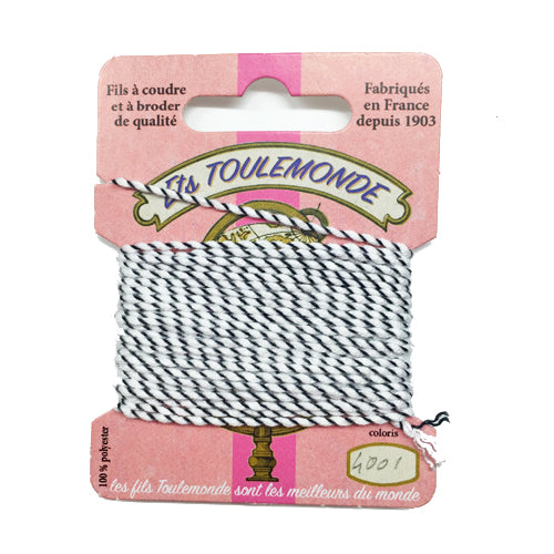 Sajou Novelty Rochefort thread 4001 White and black