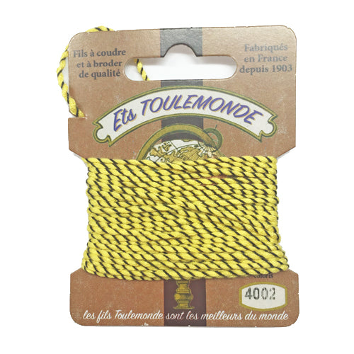 Sajou Novelty Rochefort thread 4002 yellow and black