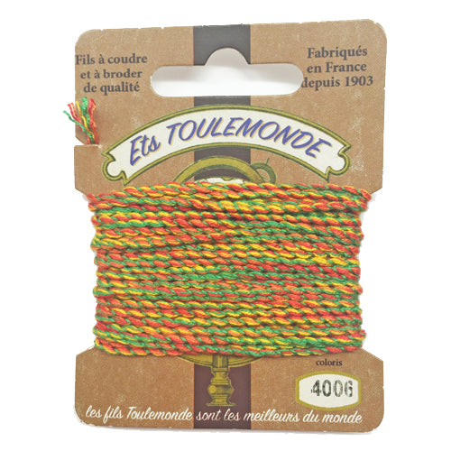 Sajou Novelty Rochefort thread 4006 green yellow and orange