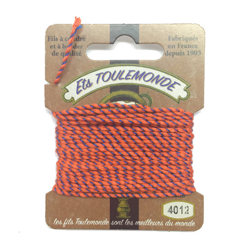 Sajou Novelty Rochefort thread 4012 orange and blue