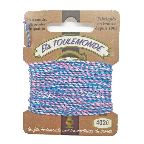 Sajou Novelty Rochefort thread 4020 blue and pink