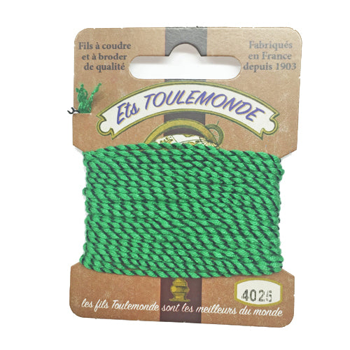 Sajou Novelty Rochefort thread 4025 green and black