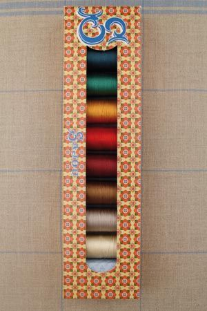 Sajou selection box 8 x 20m silk thread Autumn Colours