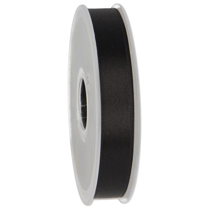 Satin Ribbon 15mm 14 black