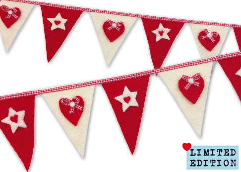 Scandi Bunting Limited Edition Felting Kit