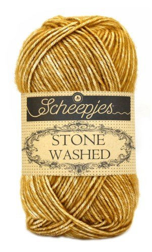 Scheepjes Stonewashed Yarn 809 Yellow Jasper