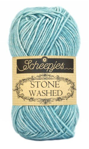 Scheepjes Stonewashed Yarn 813 Amazonite